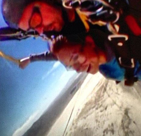Vegas Extreme Skydiving : Brian and i! I highly recommend him, he is funny and very professional!