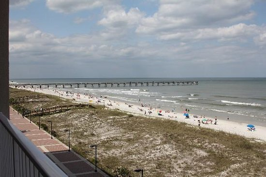 Four Points by Sheraton Jacksonville Beachfront: View from our room