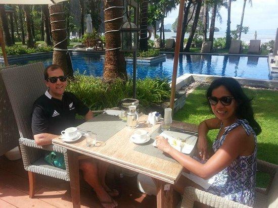 Centara Grand Beach Resort & Villas Krabi: Breakfast Area...