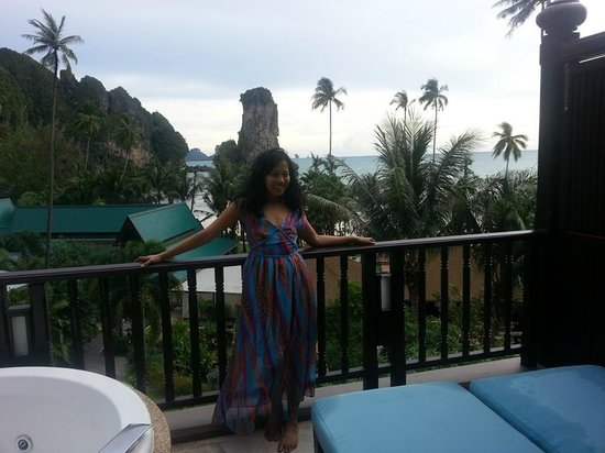 Centara Grand Beach Resort & Villas Krabi: from our room verandah, what a stunnin view