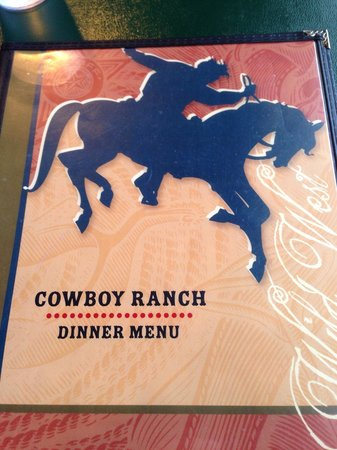 Cowboy Ranch House at Bryce Canyon Resort: Supper stop in Bryce Canyon ....