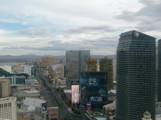 Eiffel Tower Experience at Paris Las Vegas : Nice view - The Strip