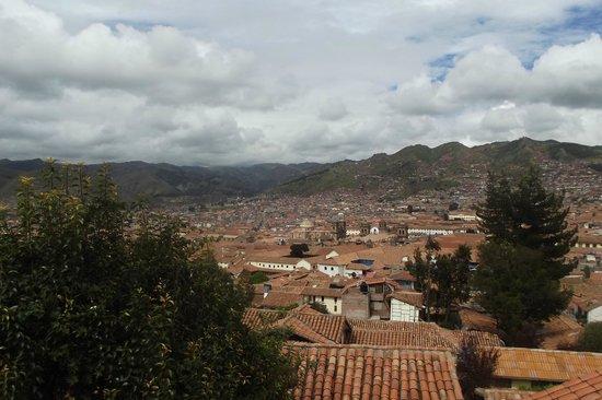 Samay Wasi Youth Hostels Cusco : Vista da sacada