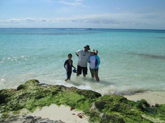 Sandos Playacar Beach Resort : Playas virgenes aledañas al hotel