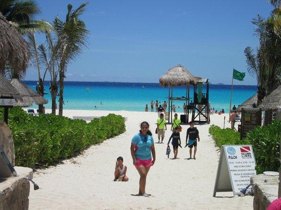 Sandos Playacar Beach Resort Playa Del Hotel