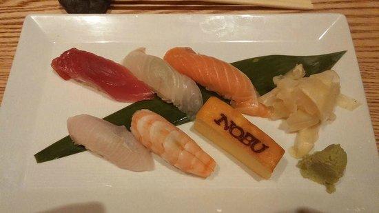 Nobu : Sushi Plate