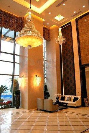 Youlemei Apartment Hotel Chongqing Xiexin: 大堂