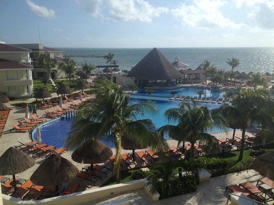Moon Palace Cancun: View from Nizuc Ambassador Suite Outdoor Terrace