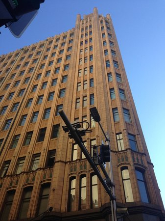 The Grace Hotel Sydney: Outside Hotel, Corner of York St and King St