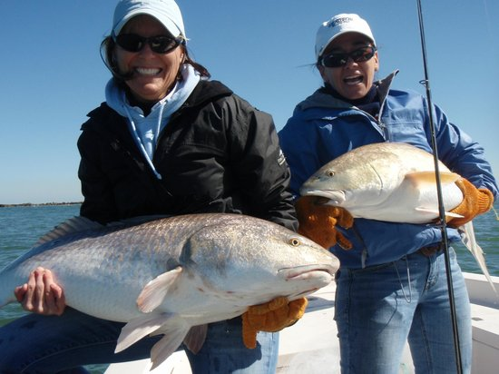 Big reds picture of the fishing guy private charters for Deep sea fishing new smyrna beach
