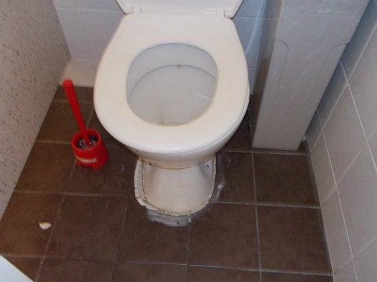 Adelaide Travellers Inn: common toilet