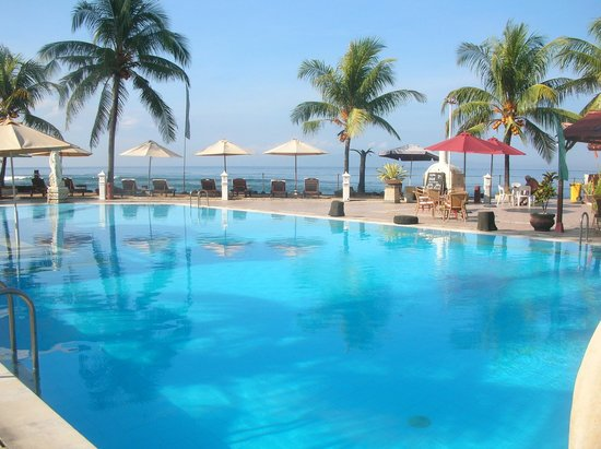 Bali Palms Resort : Pool area