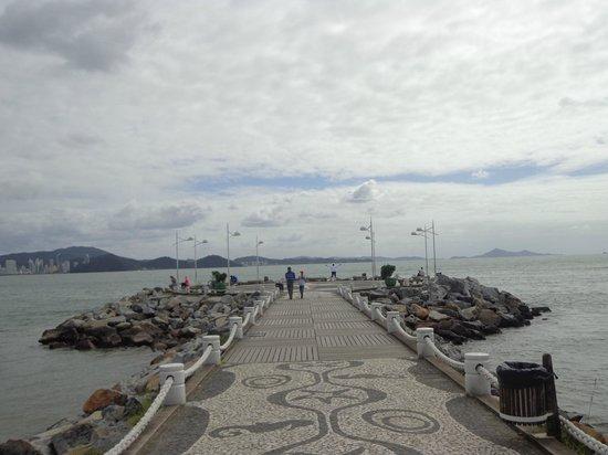 Molhe - Barra Sul: Chegar e ver o mar