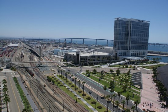 Omni San Diego Hotel : View from Room