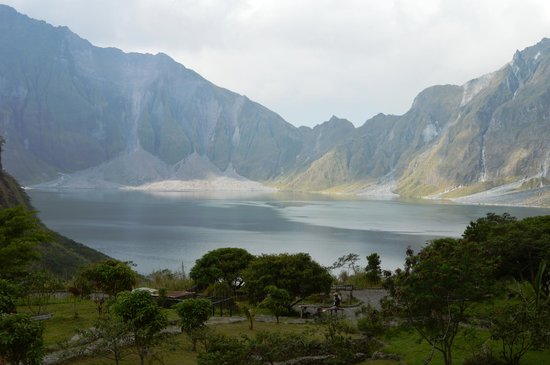 Mount Pinatubo : Majestic, awesome, fantastic, magnificent