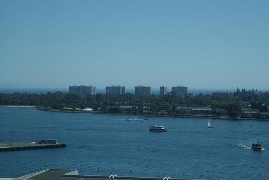 "Omni San Diego Hotel : View of Coronado ""Island"""