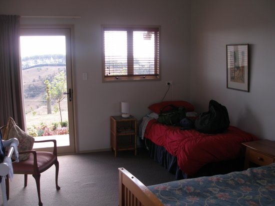 Kauri Lodge: 1 of the two guest bedrooms