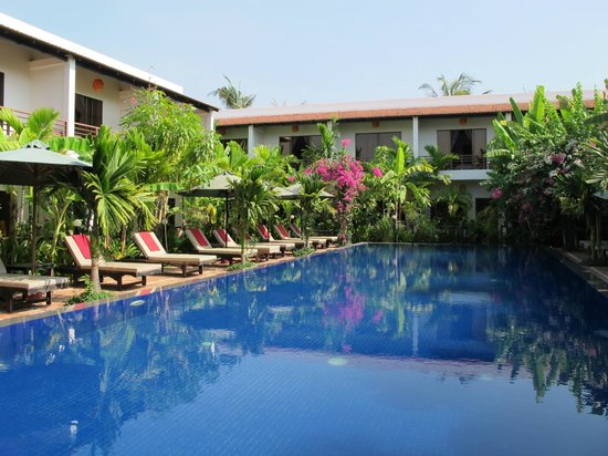 La Niche D'Angkor Boutique Hotel: Pool