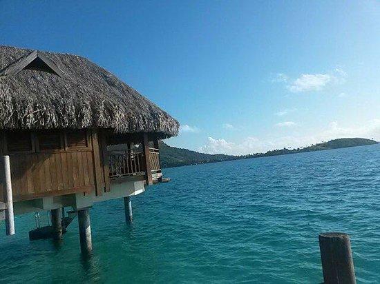 Sofitel Bora Bora Private Island : Overwater bungalow