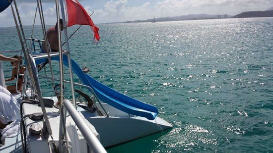 East Island Excursions : East Wind catamaran