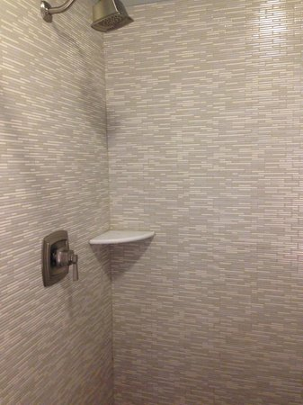 Rodeway Inn Center City: Nice, modern bathrooms