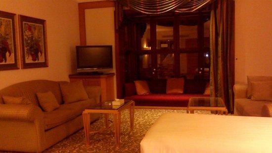 Makkah Hilton Towers : big room