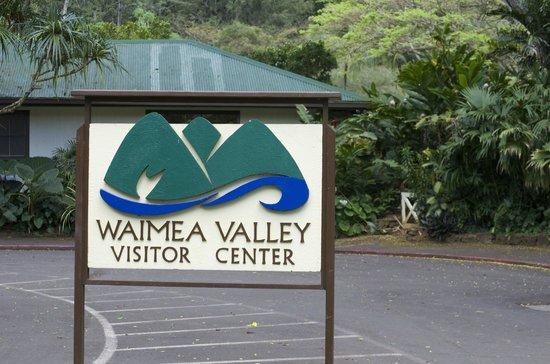 Waimea Valley: Sign