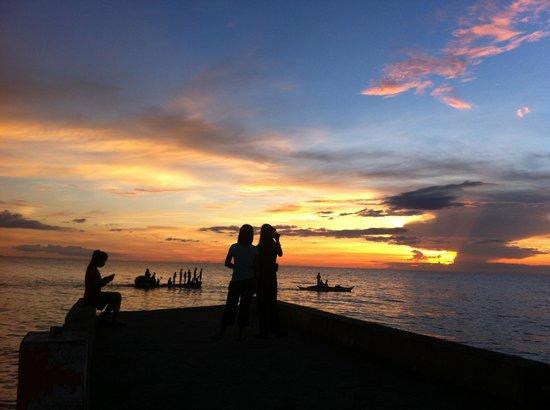 Sunset at Aroma Beach