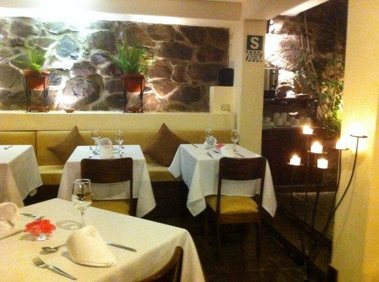 Encantada Casa Boutique Spa: Salle a manger