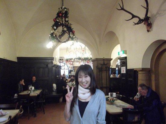Zum Augustiner: クリスマスの飾付が素敵なレストラン