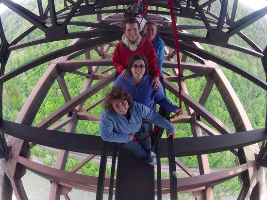 The Resort at Glade Springs: New River Gorge Bridgewalk - AWESOME!
