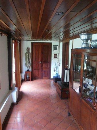 Villa Maydou : hall in reception