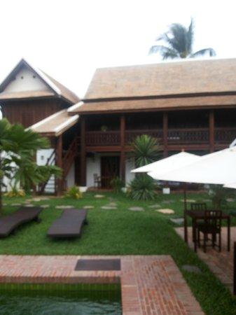 Villa Maydou: pool area