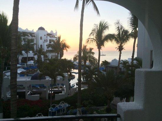 Pueblo Bonito Los Cabos : View from room at sunrise