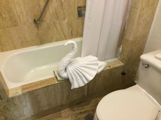 Pueblo Bonito Los Cabos : Swan towel in the room
