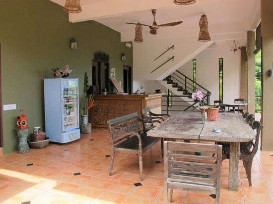 Nanga Damai Homestay : Lounge area