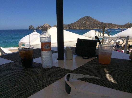 Pueblo Bonito Los Cabos : view from a table at cilantro's