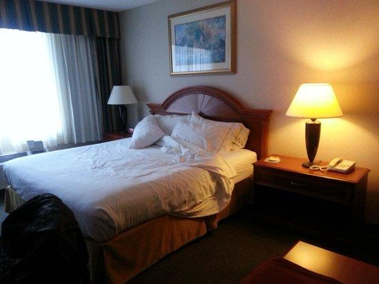 Holiday Inn Express Poughkeepsie: Sleeping Area