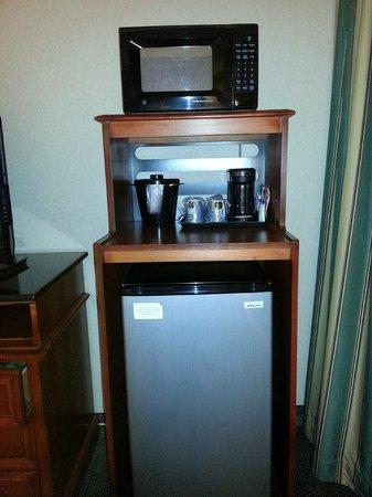 Holiday Inn Express Poughkeepsie: Fridge & Microwave