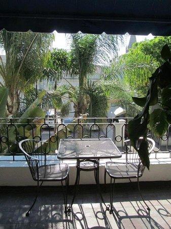 La Perla Hotel Boutique B&B : Balcony of El Radio