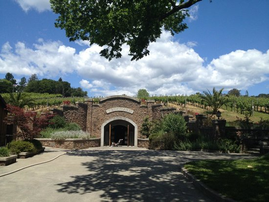Truchard Vineyards entrance