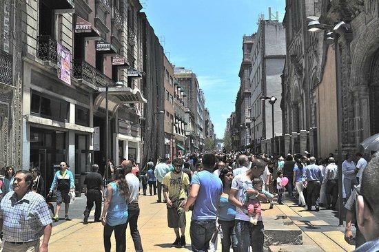 Gran Hotel Ciudad de Mexico: Av Francisco Madero