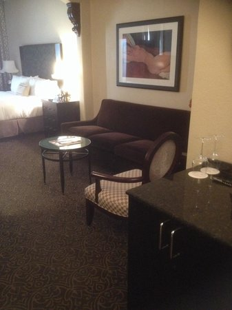 Hotel ZaZa Dallas : Part of the suite of room 406