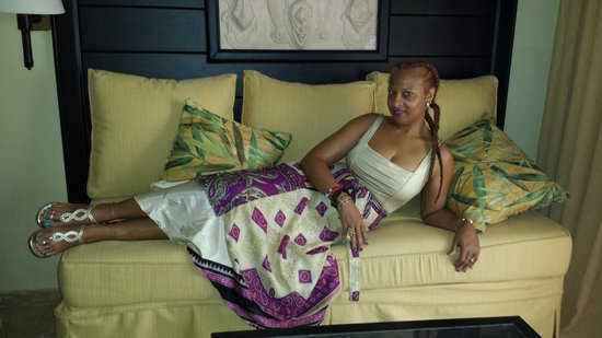 Melia Caribe Tropical: On the couch