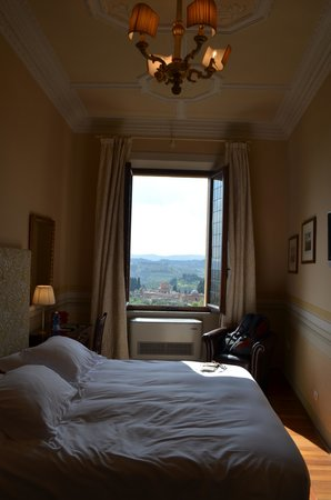 Palazzo Ravizza: View of our Room
