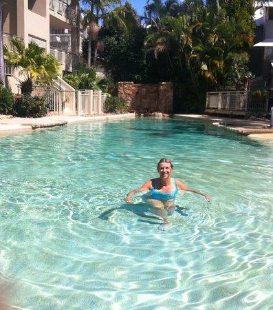 Colonial Resort: Enoy the pool!