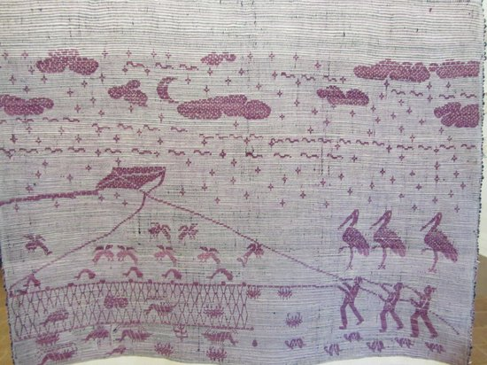 Centro de Textiles del Mundo Maya: Double-sided weave, side B