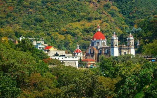 Panorámica del Santuario de Chalma