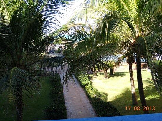 Oceani Beach Park Hotel: vista para praia e piscina