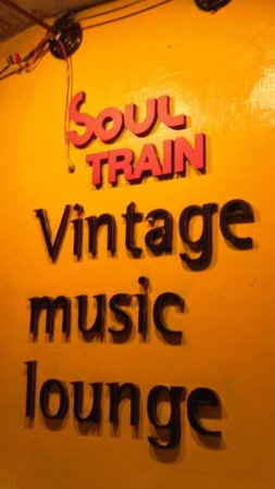 Soul Train Vintage Music Lounge